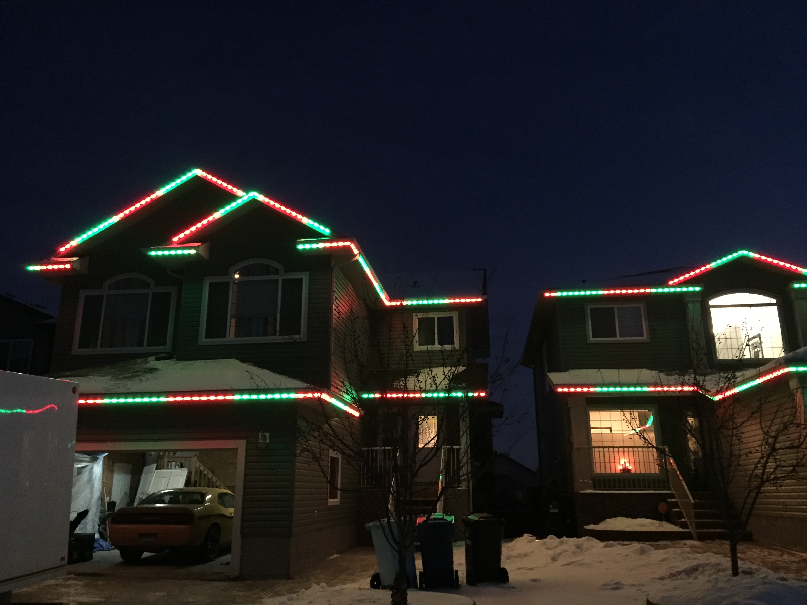 LED Lighting Can Transform Christmas House Lights In Toronto From The Traditional To The Modern